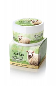 Lanolin Night Creme - Dry to Normal - with Manuka Honey and Royal Jelly 100g