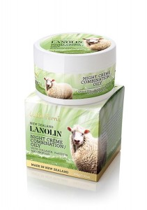 Lanolin Night Creme - Combination to Oily - with Collagen, Placenta and Propolis 100g